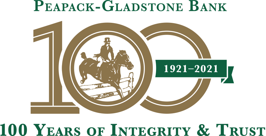 peapak gladstone bank logo